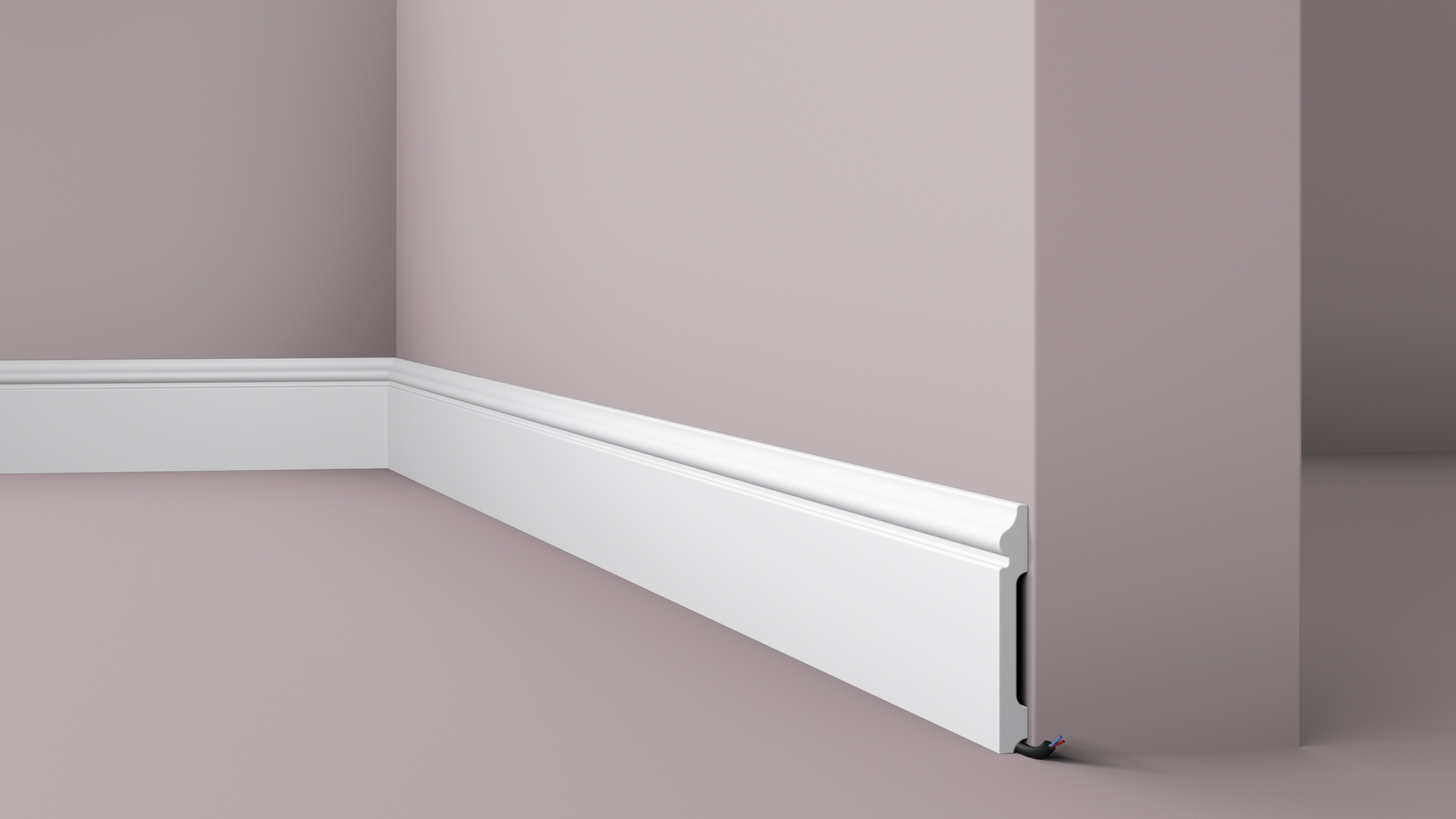 install the skirting board